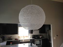 how to make a string ball chandelier what with paper things buildings things to make