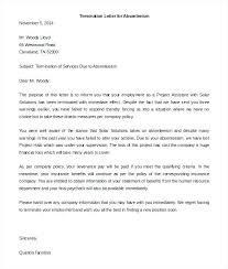 Termination Of Employment Letter Template Employee Termination Letter Template Canada Printable Notice Of