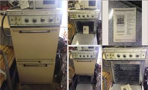 vintage thermador double oven never