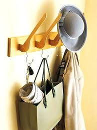creative coat racks how to hang hooks at cool hook ideas pictures design
