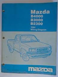 1994 mazda b4000 wiring diagram 1994 image wiring 1994 mazda b4000 b3000 b2300 service shop manual set wiring on 1994 mazda b4000 wiring diagram