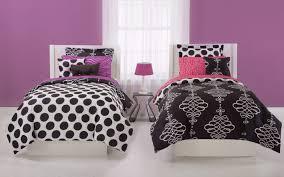 Twin Black And White Polka Dot Bedding