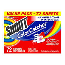 Shout Color Catcher Dye Trapping Sheets 72 0 Count
