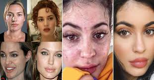 well today we are going to share with you another post in which you can see a few pictures of top hollywood actresses without makeup