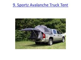 Top 10 best truck bed tents in 2017