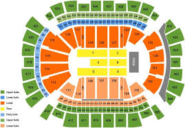 Toyota Center Detailed Seating Chart Concerts Simplyitickets