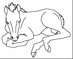 Small Picture magnificent printable realistic horse coloring pages with horse