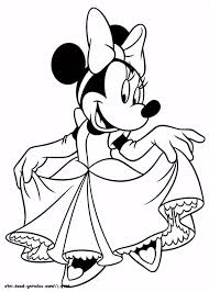 Minnie Mouse Coloring Pages Minnie Mouse Birthday Resume Simple