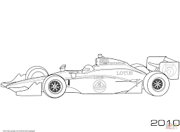 Race Car Coloring Pages Cars Free Printable Pictures Takuma Sato