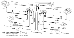wiring diagram for western snow plow and