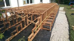 Denn diese muss den ganzjährigen witterungseinflüssen trotzen. Treppe Aus Holz Fur Die Terrasse Bauen Bauanleitung