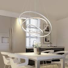living room pendant lighting. modern pendant lights for living room dining kitchen circle rings acrylic body hanging ceiling lamp fixtures lighting n