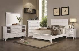 Quality White Bedroom Furniture Camellia 200221 Bedroom In White By Coaster W Options