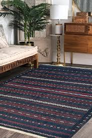 sea green kilim flat woven area rug