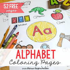 Online coloring most marked in some toys, but are often part of a different genre, and as an additional task. 52 Free Alphabet Coloring Pages Trace Color