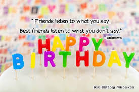 Birthday Thought For Bestie