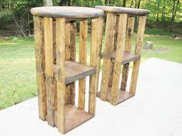 outdoor diy bar stools