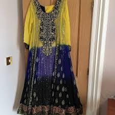 Waseem Noor Designer Pakistani Designer Gown Genuine Waseem Noor Unworn