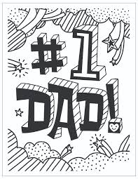 fathers day coloring pages printable 2
