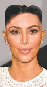 JR/New York Daily News Kim Jong-de Blasio Kim Kardashian wearing the Kim Jong-un hairstyle. JR/New York Daily News Kim Jong-Kardashian. - kim-kardashian-kim-jong-un-haircut-north-korea