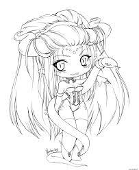 Coloriage Manga Kawaii Fille Fairy Dessin
