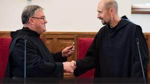 Image result for Fr.Stefano Visintini osb photos St.Anselm Rome
