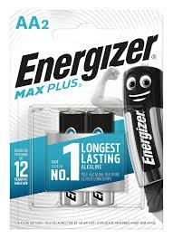 <b>Батарейка ENERGIZER</b> AA <b>Max Plus</b> (2шт) купить по низкой цене ...