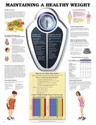 Maintaining A Healthy Weight Unmounted Chart Maintaining A Healthy ...