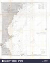 Nautical Charts New England Coast Preliminary Chart No 3 Of The Sea Coast Of The United