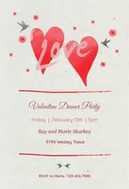 valentines party invitations free valentines day invitation templates greetings island