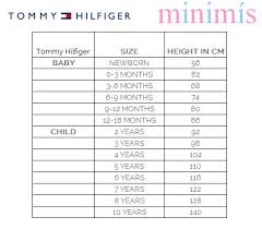 Tommy Hilfiger Baby Size Chart 51 Comprehensive Tommy Jeans Size Guide