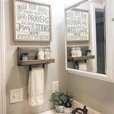 Pin by Jacklyn Powers on My Dream Bathroom in 2020 | Restroom decor,  Bathroom decor, Small bathroom decor