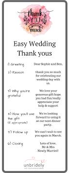 Best 25 Wedding Thank You Wording Ideas On Pinterest Thank You