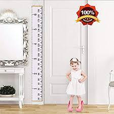 Amazon Com Mazu Height Growth Chart For Kids Canvas