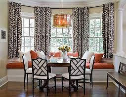 eyelet curtains on bay window elegant bay window curtains ideas for privacy and beauty