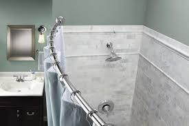 moen tension curved shower rod
