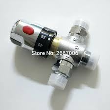 bathtub mixing valve new 2 thermostatic mixing valve faucet water temperature control bathtub faucet solar water