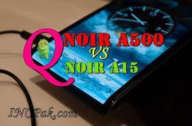 Qmobile Noir A15 3D vs Qmobile Noir ...