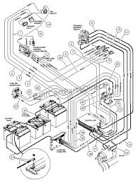 wiring carryall i powerdrive electric vehicle club car parts club car battery wiring diagram 48 volt at 2000 Club Car Golf Cart Electric Wiring