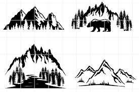 Mountain svg mountains svg file mountain clipart camping   etsy. Mountains Svg Travel Bundle Cut Files Hike Cutting Files 996597 Cut Files Design Bundles