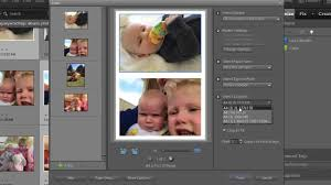 print multiple photos on one sheet in photo elements