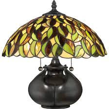 quoizel tiffany 14 5 2 light table lamp in valiant bronze