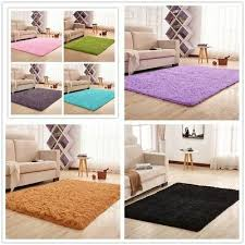 us stock ultra soft fluffy area rugs round mat home carpet for living room
