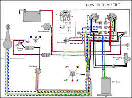 common outboard motor trim and tilt system wiring diagrams 2 wire motor trim tilt