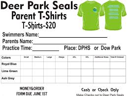 T Shirt Order Forms Sample T Shirt Order Form All Illustration Template Word Templates 13