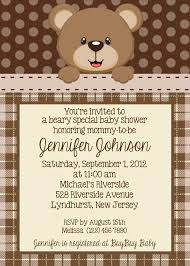 Make Your Own Printable Birthday Invitations Online Free Bug Baby Ser Invitations Teddy Bear Invitation Personalized