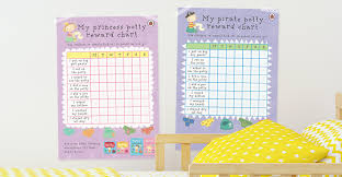 Potty Training Charts For Girls Download A Potty Training Chart Featuring Pirate Pete Or Princess Polly