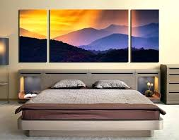 large 3 piece wall art canvas pictures for bedroom 3 piece wall art landscape large pictures