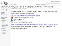 Wikipedia Create Why And How To Create And Edit Articles On Wikipedia