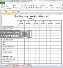 Workout Progress Charts Workout Grow Sew Happy